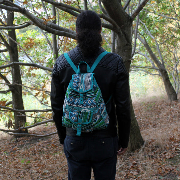 Jacquard Bag ~ Backpack ~ Only currently available in Chocolate