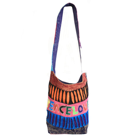 Peace & Love Bag (assorted designs).  Hand~Made.