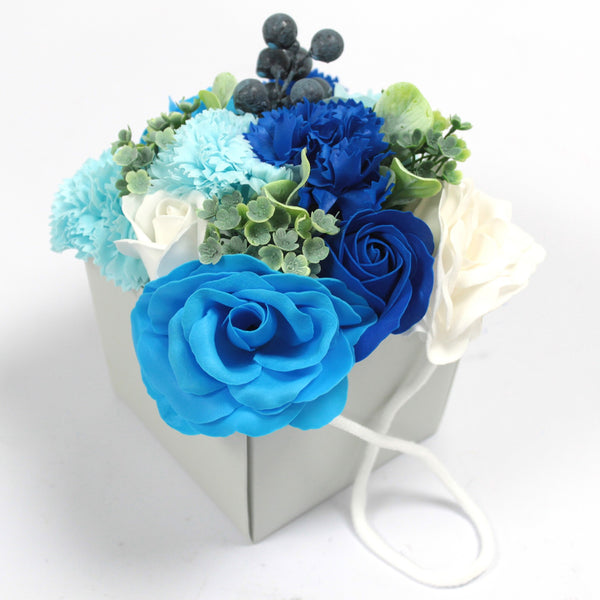 Soap Flower Bouquet ~ Choice of 6 colour Options.