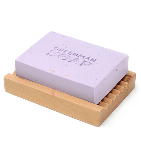 Greenman Soap ~ Night time (Lavender & Geranium) ~ Handmade in England 100g