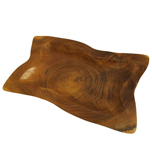 Teak Root Plate ~ Approx 30 x 20 (cm) ~ Sold out