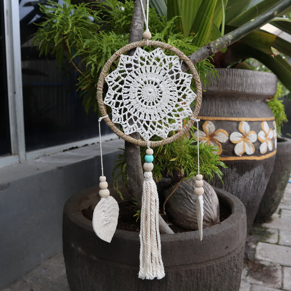 Dream Catcher - Medium, Natural Elemental Spirits - Vegan Friendly.