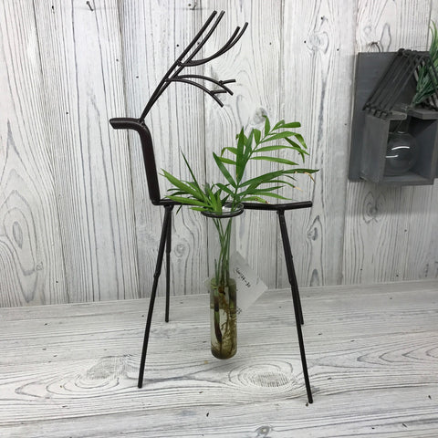Hydroponic Pot (Vase) - Stag - Recycled materials.