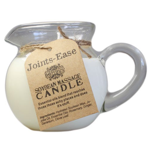 Candle for Massage - Joints Ease,   Soybean.  Essential oils.