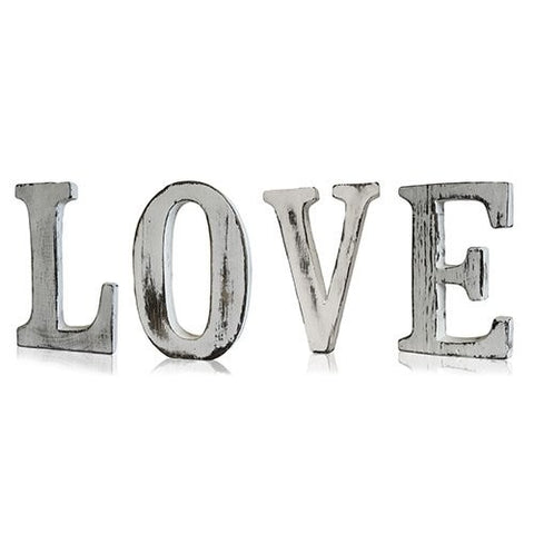 Shabby Chic Letters ~ Love.  Approx 15 cm tall ~ Sold out