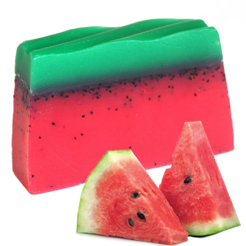 Tropical Paradise Soap - Watermelon ~ 100g ~ Handmade in the UK