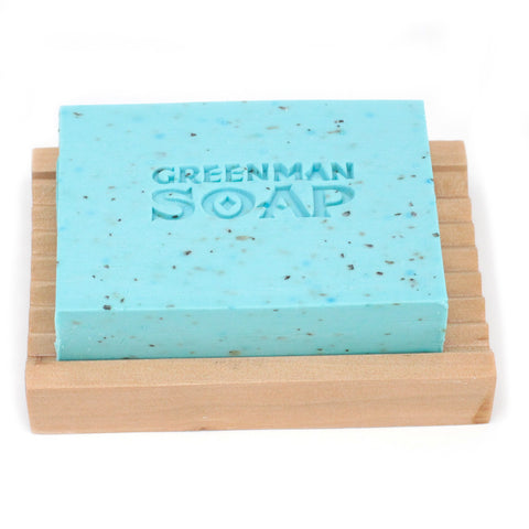Sold out ~ Greenman Soap ~Morning Glory (Frankincense, Bergamot & Mint) ~ Handmade in England 100g