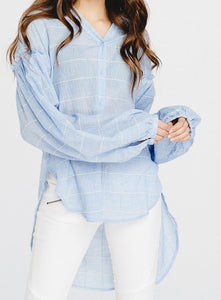 Window Pane Blouse