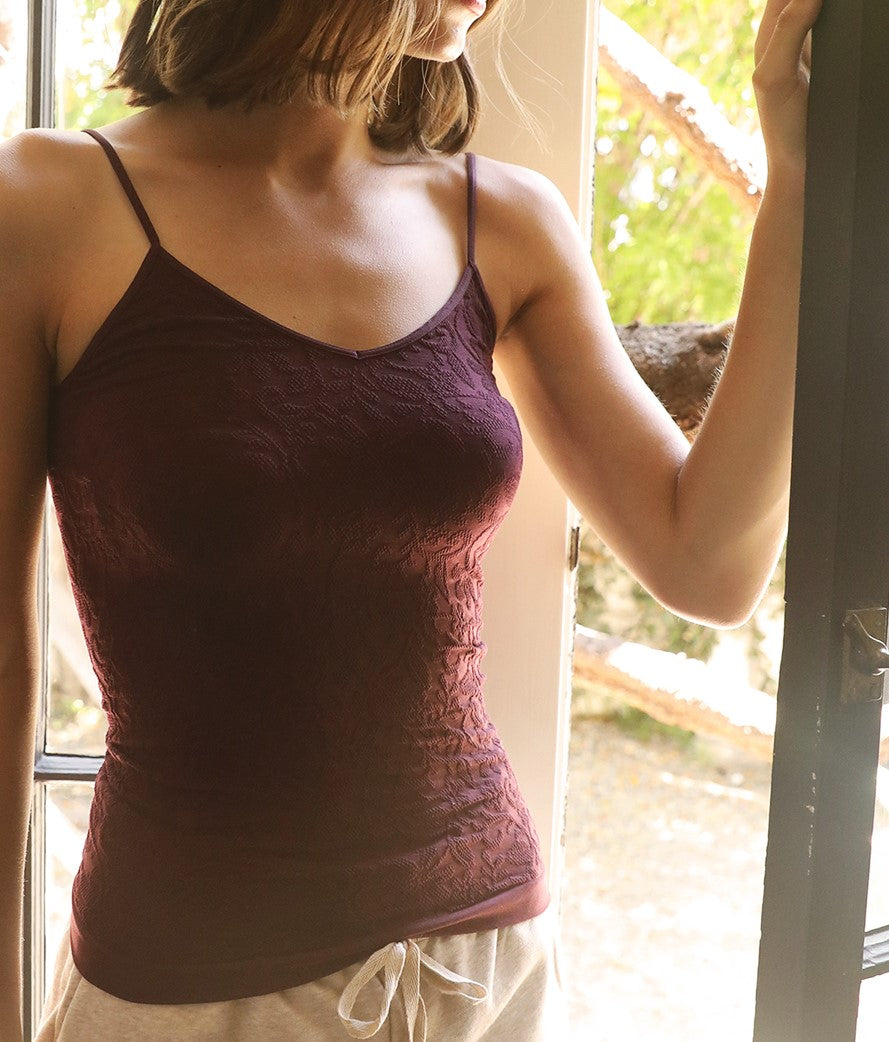 Lace V Neck Cami - A7