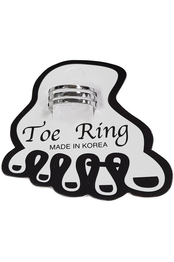 Toe Ring with Lines