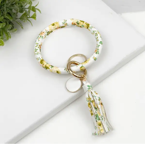 Key Ring Bracelet Collection - Daises