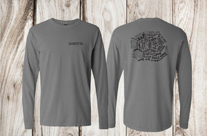 Caffeine Molecule Long Sleeve