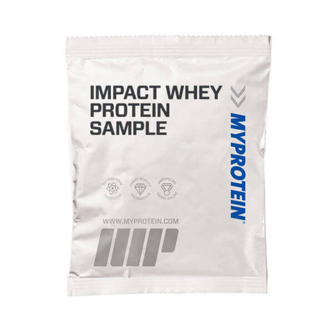 Amostra de Impact Whey Protein - Myprotein - My Whey Store