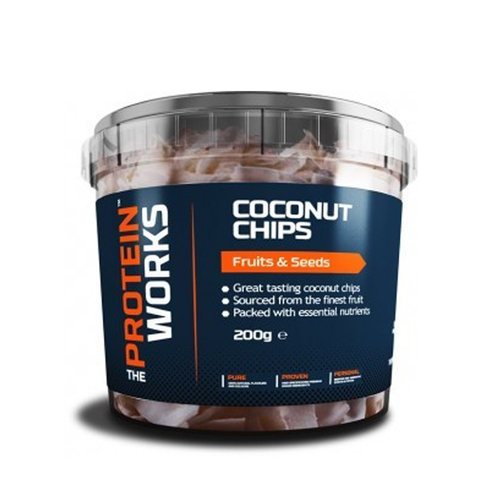 Coconut Chips - The Protein Works - My Whey Store