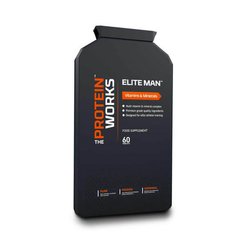 Elite Man - The Protein Works - My Whey Store