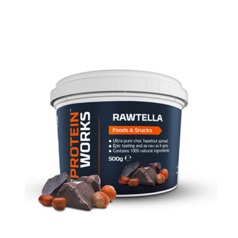 Rawtella - Nutella Natural - The Protein Works - My Whey Store
