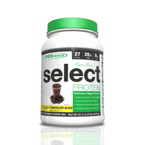 Comprar Select Protein Vegan Series de Chocolate da PEScience na My Whey Store