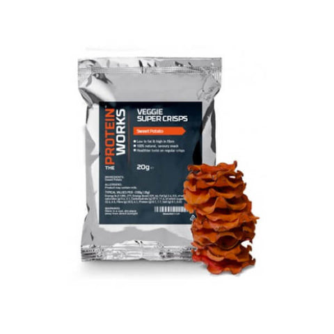 Veggie Super Crisps - The Protein Works - My Whey Store