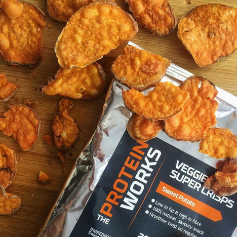 Comprar Veggie Super Crisps da The Protein Works na My Whey Store