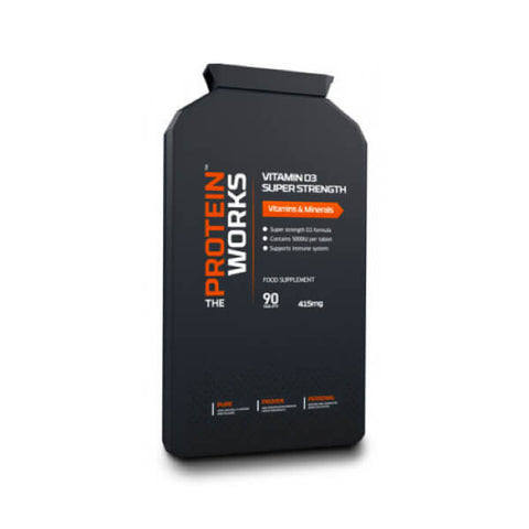 Comprar Vitamin D3 Super Strength da The Protein Works na My Whey Store