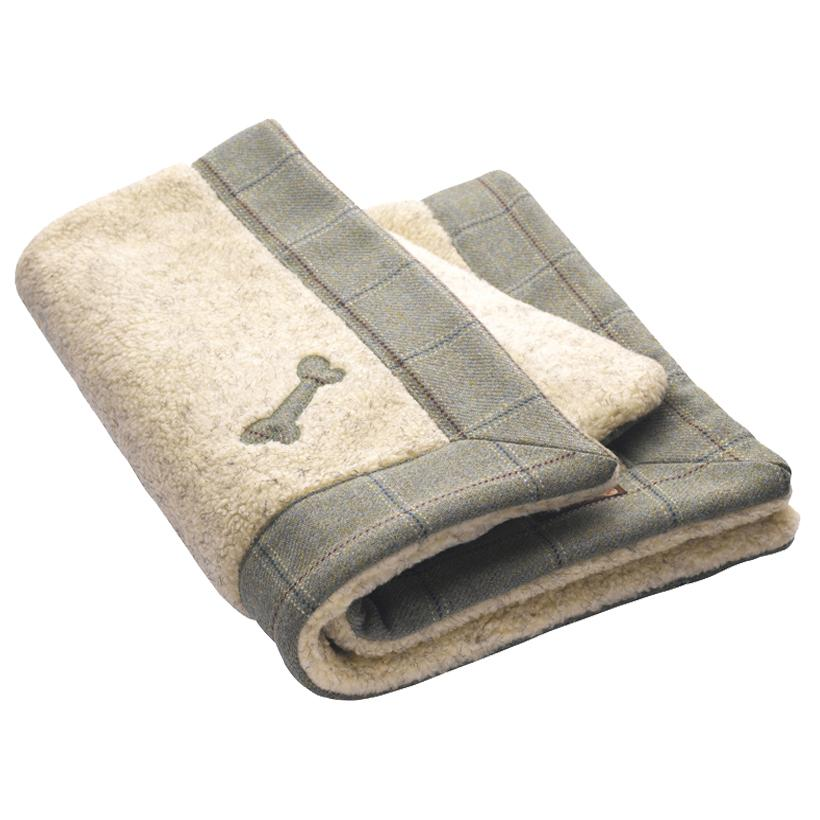 Digby Tweed Dog Blanket - LISH Dog Luxury Fashion and Accessories