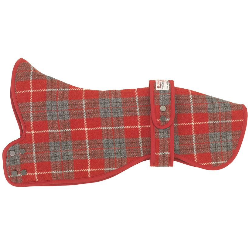Hoxton Tartan Greyhound & Whippet Coat - LISH Dog Luxury Fashion and Accessories