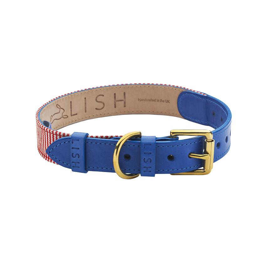 Hanbury BL16 Dog Collar - LISH Dog Luxury Fashion and Accessories