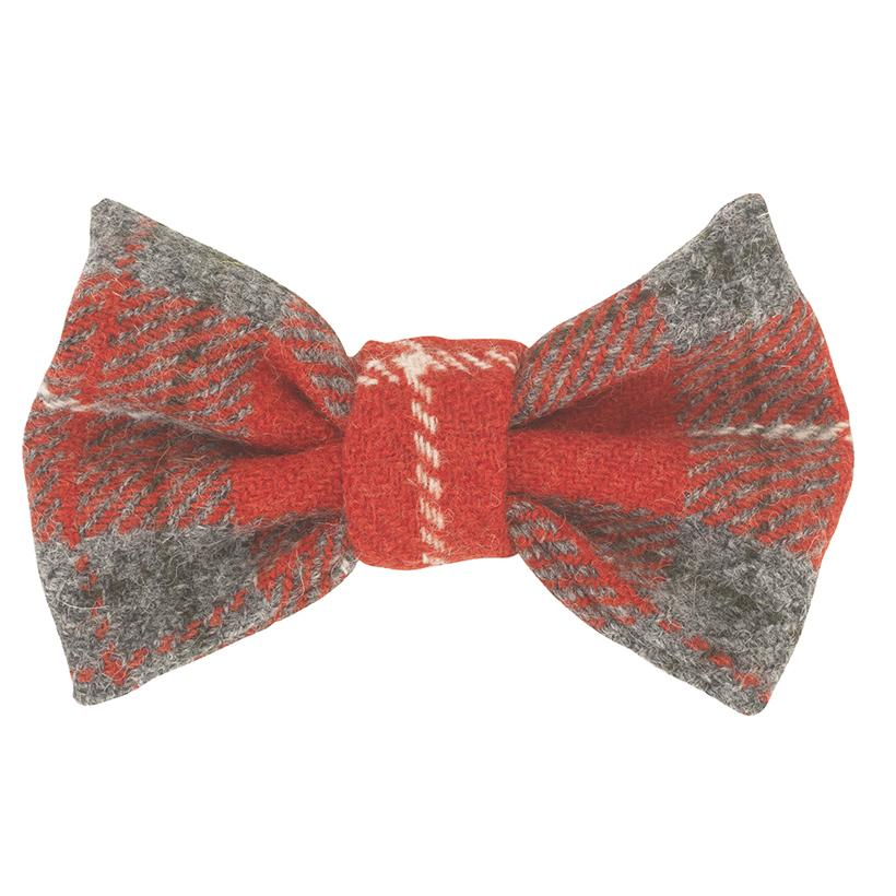 Bow Wow Dog Bow Tie - Hoxton Tartan - LISH Dog Luxury Fashion and Accessories