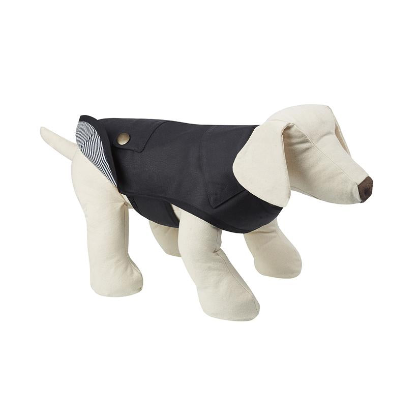 Sutton Blue Dog Raincoat - LISH Dog Luxury Fashion and Accessories
