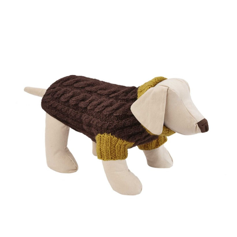 Wilmot 1970 Cable Dog Sweater - Limited Edition