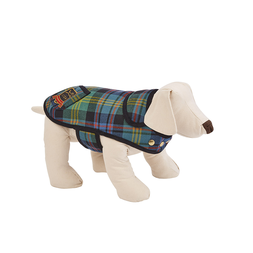 Ellen Scottish Tartan Luxury Dog Coat