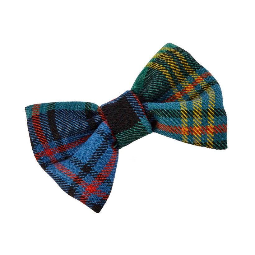 ELLEN TARTAN DESIGNER DOG BOW TIE BY LISH LUXURY PETWEAR