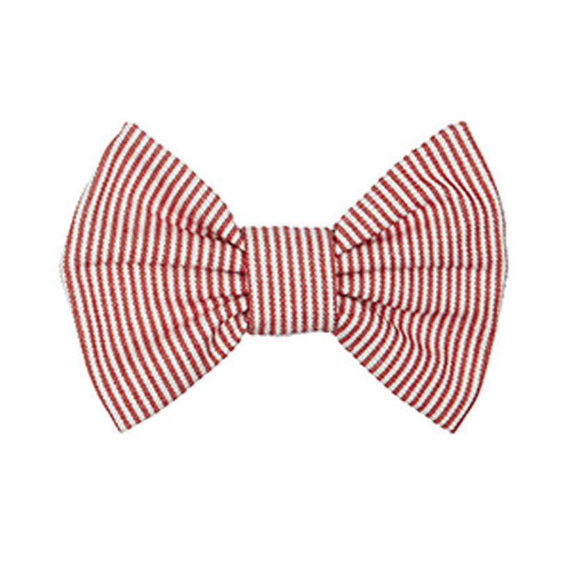 Bow Wow Dog Bow Tie - Sutton Red - LISH Dog Luxury Fashion and Accessories