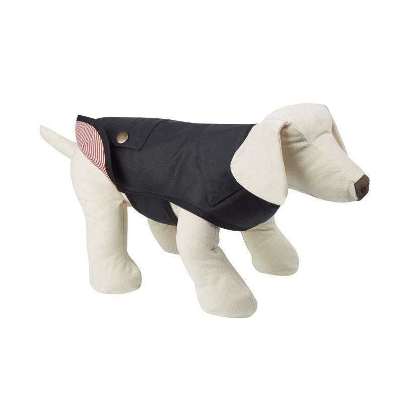 Sutton Red Dog Raincoat - LISH Dog Luxury Fashion and Accessories