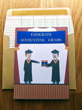 Load image into Gallery viewer, Accounting Graduation Card - CPA Exam Prep