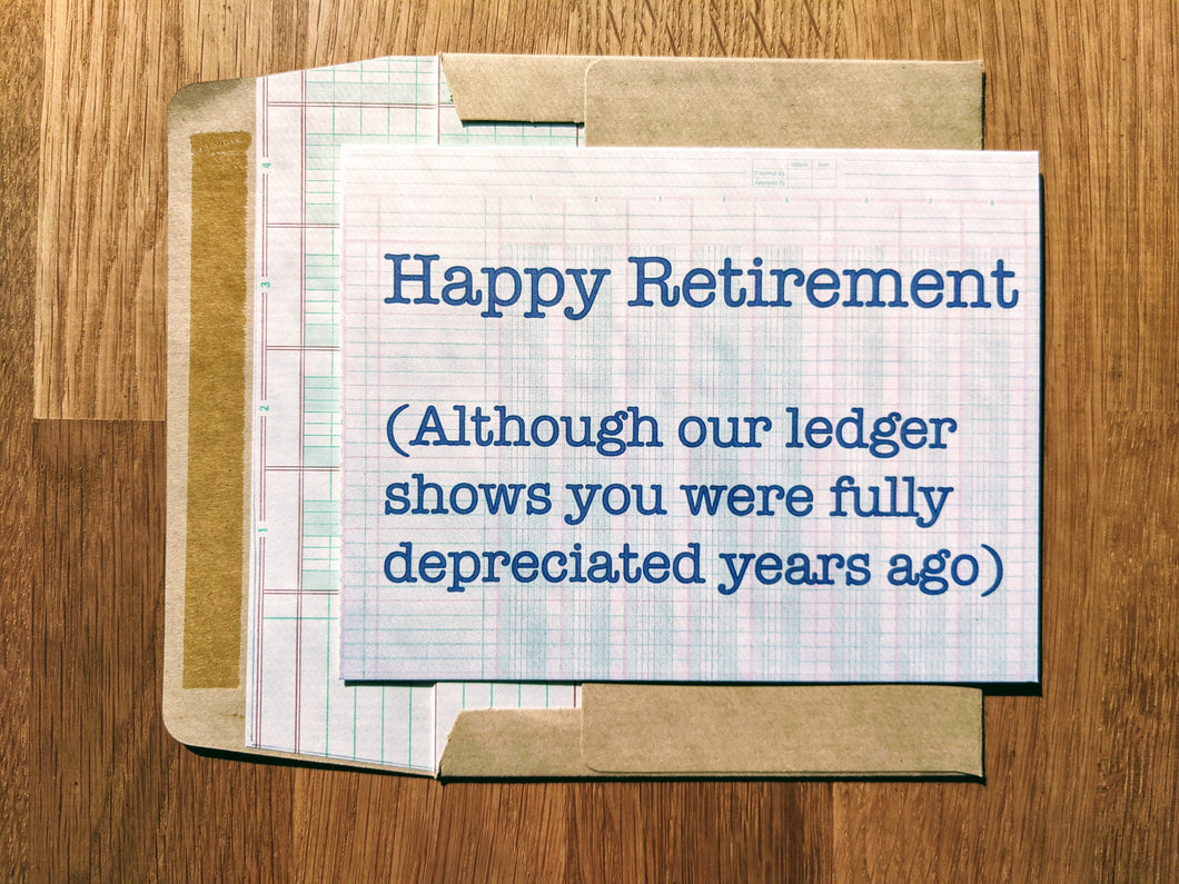 Retirement Accountant Fully Depreciated