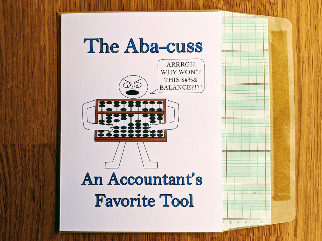 Abacuss Accounting Greeting Card