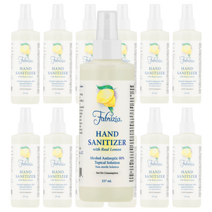 12 Pack of 8 oz Bottles With Spray Heads - 80% Ethyl Alcohol
