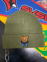 Load image into Gallery viewer, Teddy Bowtie Beanie
