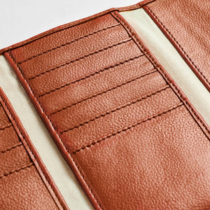 Women`s genuine leather wallet N2
