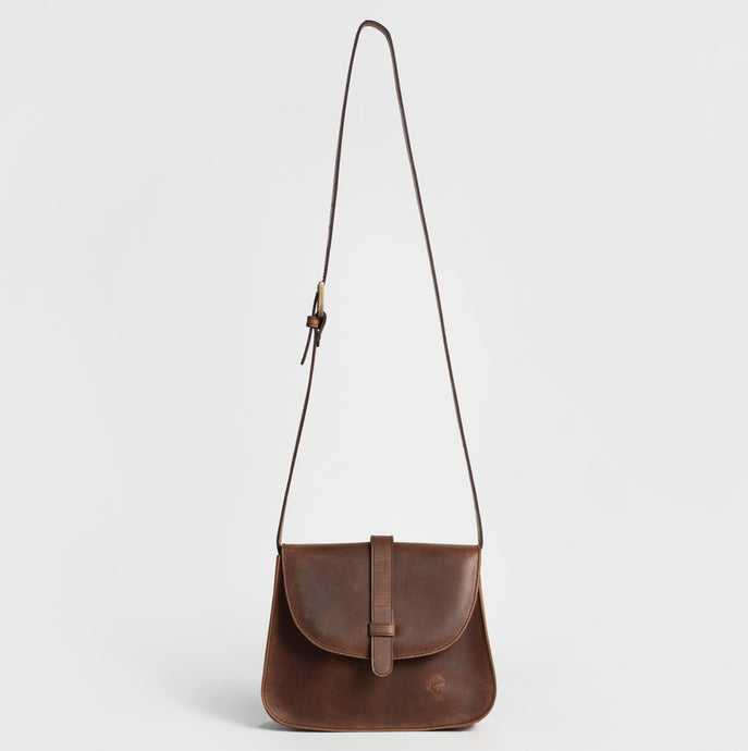 Missionary-style leather bag - Dorotea