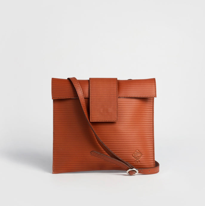 Women's Leather Handbag - Pochette