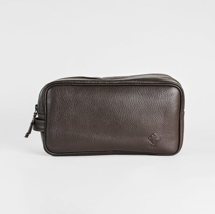 Toiletry traveling leather bag - RaM