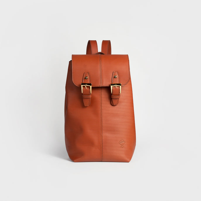 Olympia leather backpack - Large