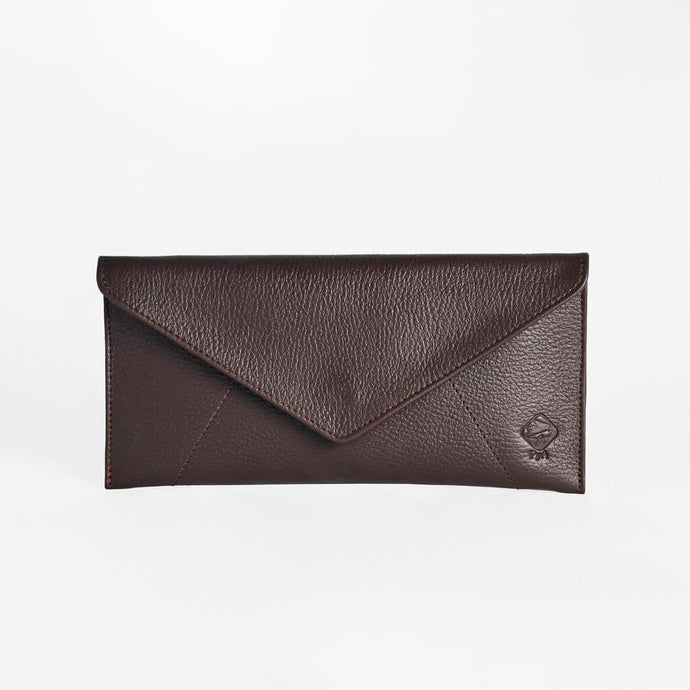 MLu leather travel document holder