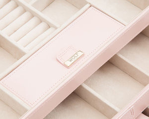 Caroline Medium Jewelry Case: Pink