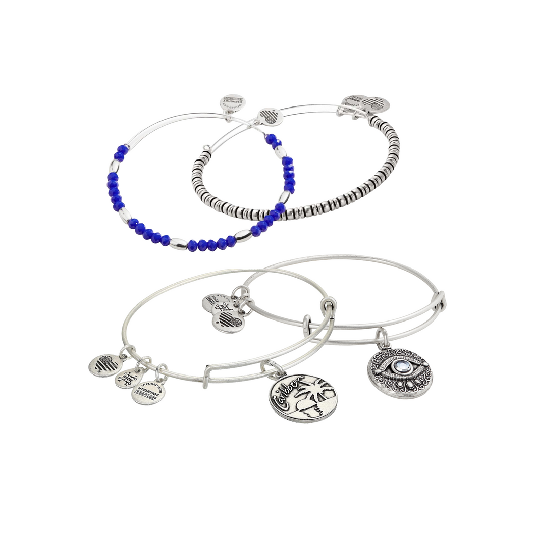 From the Caribbean with Love Bangle Set