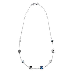 925 Rock Candy® Mini Station Necklace