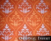 Ethnic Grid Damask - Topper