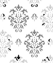 Load image into Gallery viewer, French Ornament Damask Stencil